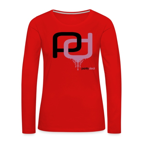 Logo Shirt - Women's Premium Long Sleeve T-Shirt