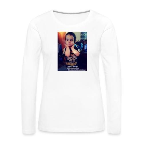 DDDs Boutique Merch - Women's Premium Slim Fit Long Sleeve T-Shirt