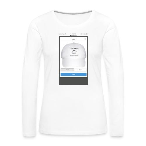 EDA4BA7C 6C7F 4E9D 8C41 12B04D13CE6B - Women's Premium Long Sleeve T-Shirt