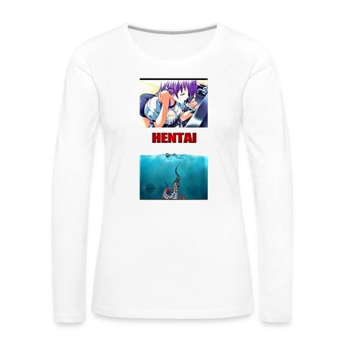 anime girl - Women's Premium Long Sleeve T-Shirt