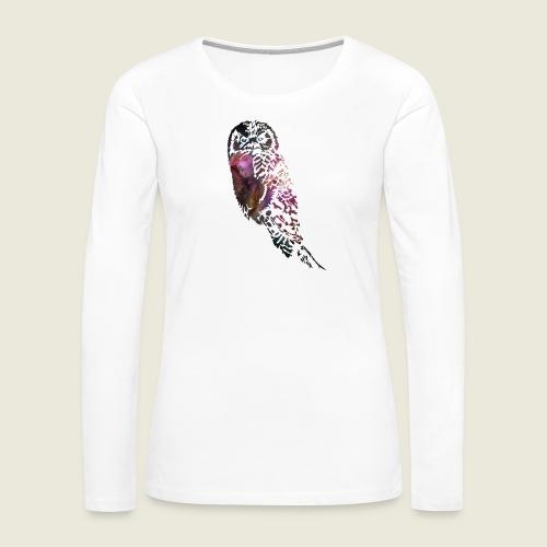 Galactic Owl - Women's Premium Long Sleeve T-Shirt