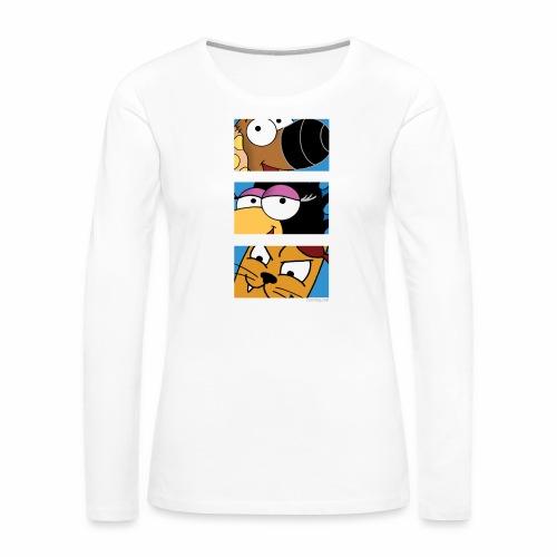 Rantdog Trio - Women's Premium Long Sleeve T-Shirt
