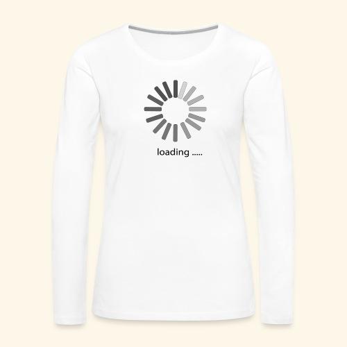 poster 1 loading - Women's Premium Slim Fit Long Sleeve T-Shirt