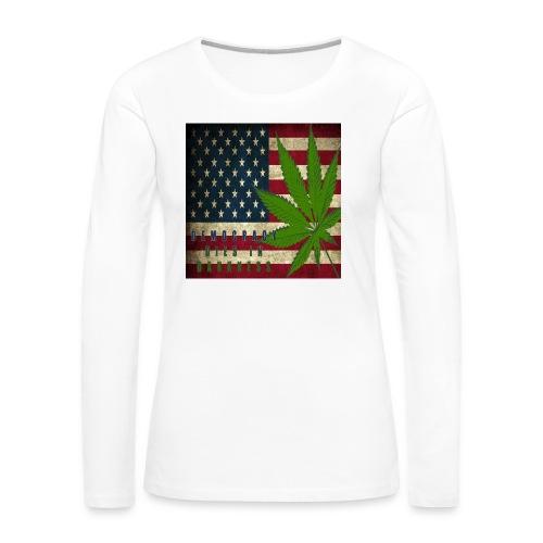 Political humor - Women's Premium Long Sleeve T-Shirt