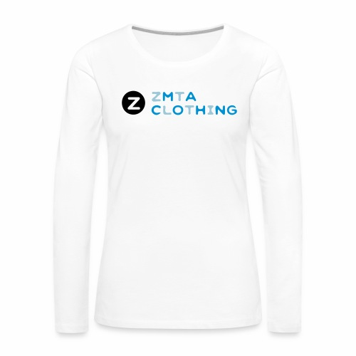 ZMTA logo products - Women's Premium Long Sleeve T-Shirt