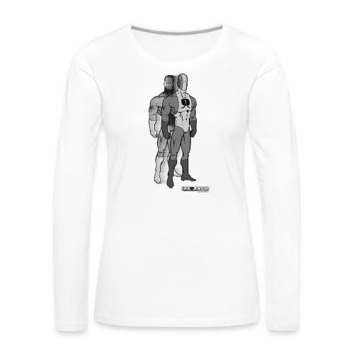 Superhero 9 - Women's Premium Long Sleeve T-Shirt