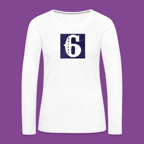 W6logo - Women's Premium Long Sleeve T-Shirt