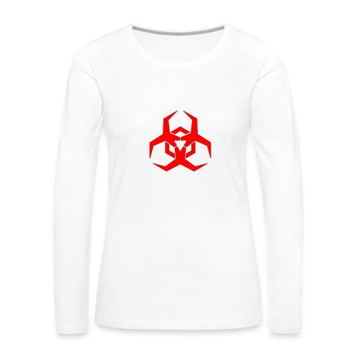 HazardMartyMerch - Women's Premium Slim Fit Long Sleeve T-Shirt
