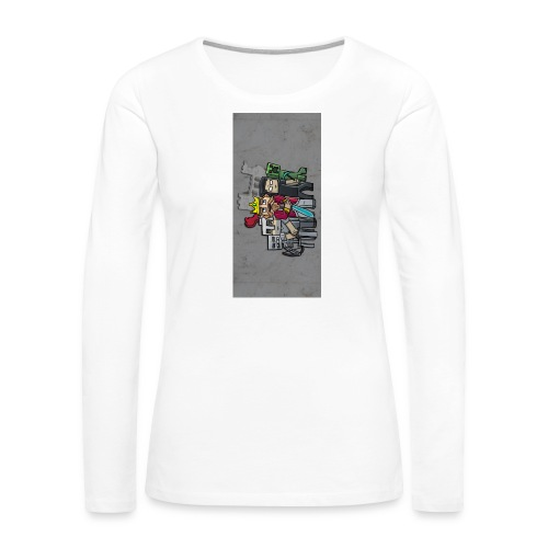 sparkleziphone5 - Women's Premium Slim Fit Long Sleeve T-Shirt