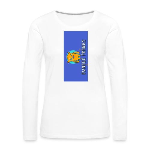 logo iphone5 - Women's Premium Slim Fit Long Sleeve T-Shirt
