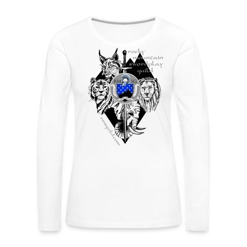 RMSG Fiore's Animals - Women's Premium Long Sleeve T-Shirt