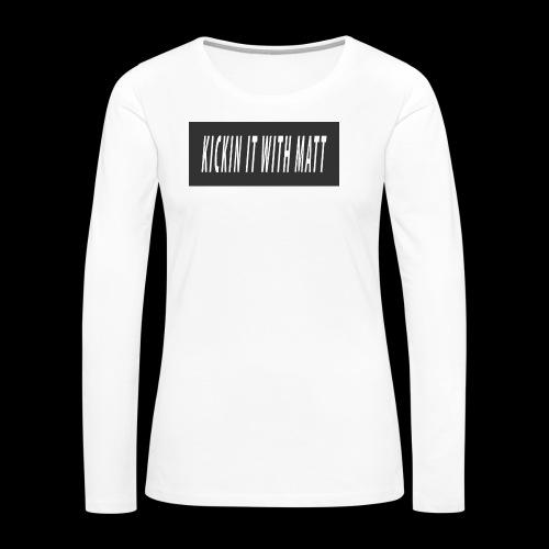 Fire - Women's Premium Long Sleeve T-Shirt