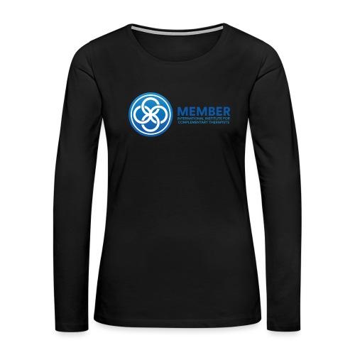 IICT Member Logo - Women's Premium Long Sleeve T-Shirt