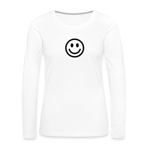 smile dude t-shirt kids 4-6 - Women's Premium Long Sleeve T-Shirt