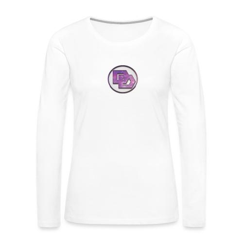 DerpDagg Logo - Women's Premium Long Sleeve T-Shirt