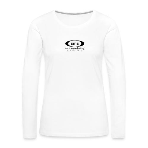 SMS Black Logo - Women's Premium Long Sleeve T-Shirt