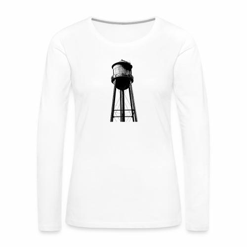 Water Tower - Women's Premium Long Sleeve T-Shirt