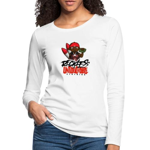 Reckless and Untouchable_1 - Women's Premium Slim Fit Long Sleeve T-Shirt