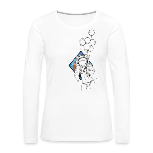 Astronaute - Art'Norme - Women's Premium Long Sleeve T-Shirt