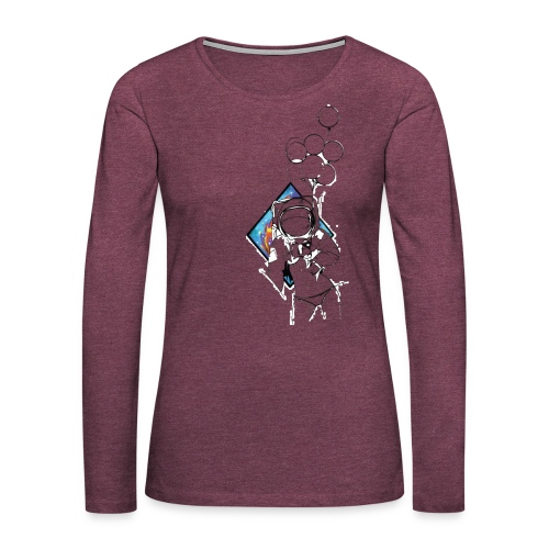 Astronaute - Art'Norme - Women's Premium Long Sleeve T-Shirt