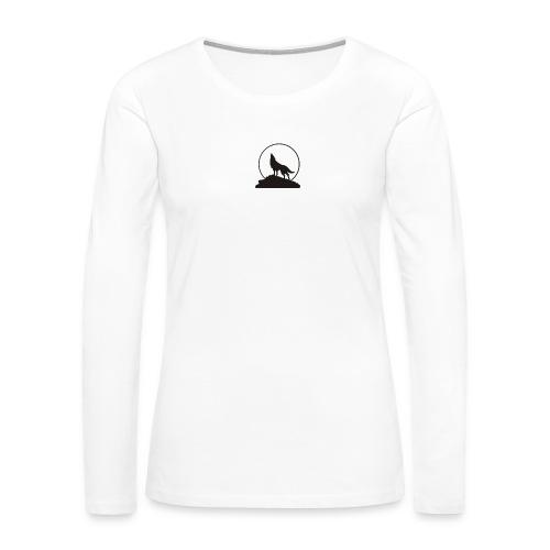 Wolf pp - Women's Premium Long Sleeve T-Shirt