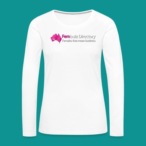 Fembuiz T-shirt - Women's Premium Long Sleeve T-Shirt