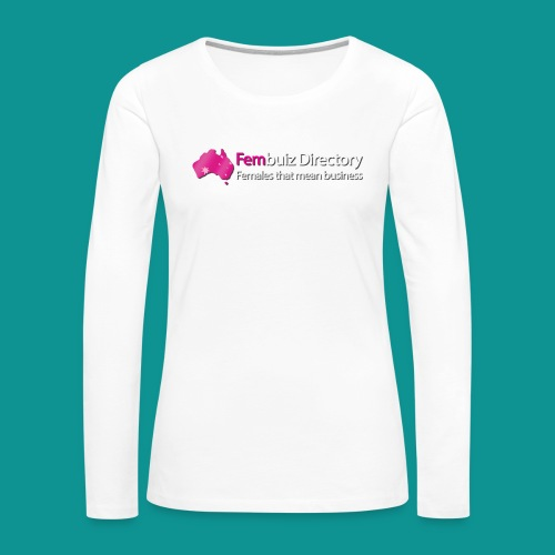 Fembuiz T-shirt - Women's Premium Slim Fit Long Sleeve T-Shirt