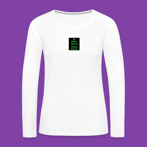 thA573TVA2 - Women's Premium Long Sleeve T-Shirt