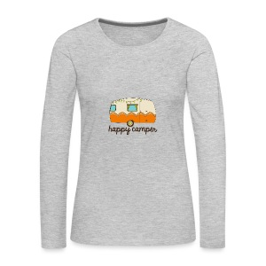 Happy Camper - Women's Premium Long Sleeve T-Shirt