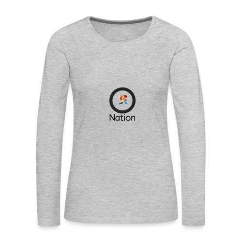 Reaper Nation - Women's Premium Long Sleeve T-Shirt
