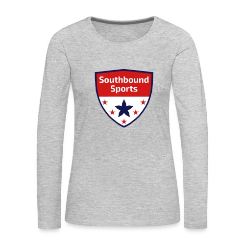 Southbound Sports Crest Logo - Women's Premium Long Sleeve T-Shirt