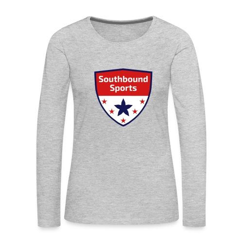Southbound Sports Crest Logo - Women's Premium Long Sleeve T-Shirt