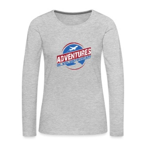 Adventures In Voluntourism - Women's Premium Long Sleeve T-Shirt