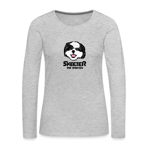 Skeeter Super Hero Full - Women's Premium Long Sleeve T-Shirt
