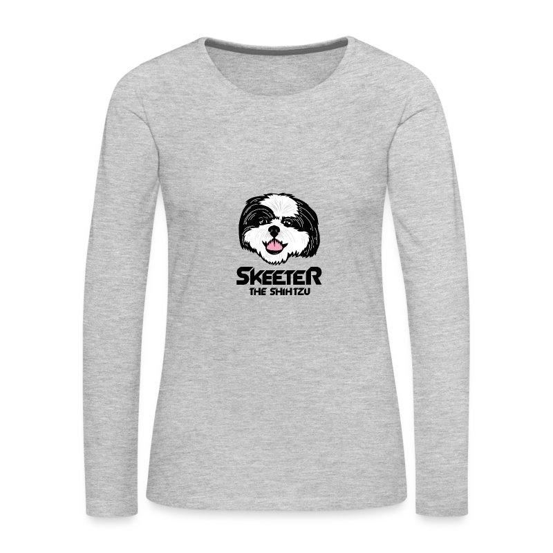 Skeeter Super Hero Full - Women's Premium Long Sleeve T-Shirt