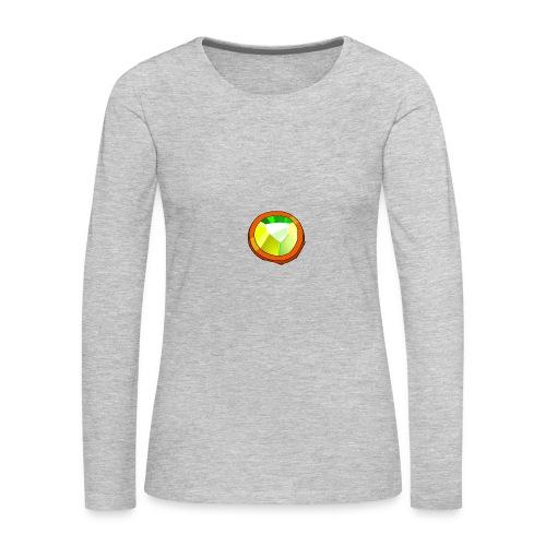 Life Crystal - Women's Premium Long Sleeve T-Shirt
