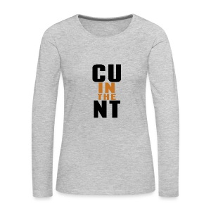 CU in the NT - Women's Premium Long Sleeve T-Shirt