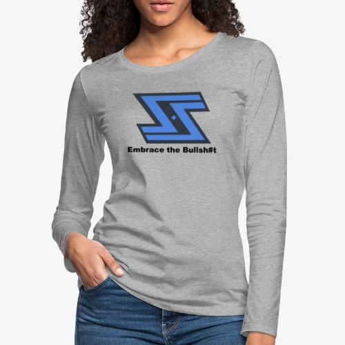 Sir Swag official logo design - Women's Premium Long Sleeve T-Shirt