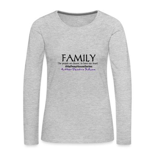 Dzintra Sullivan designs 3 - Women's Premium Slim Fit Long Sleeve T-Shirt
