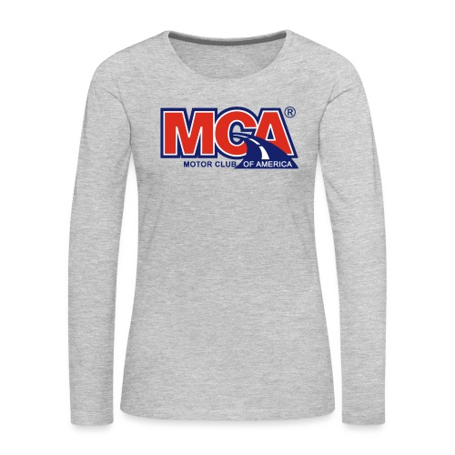 MCA - Women's Premium Slim Fit Long Sleeve T-Shirt