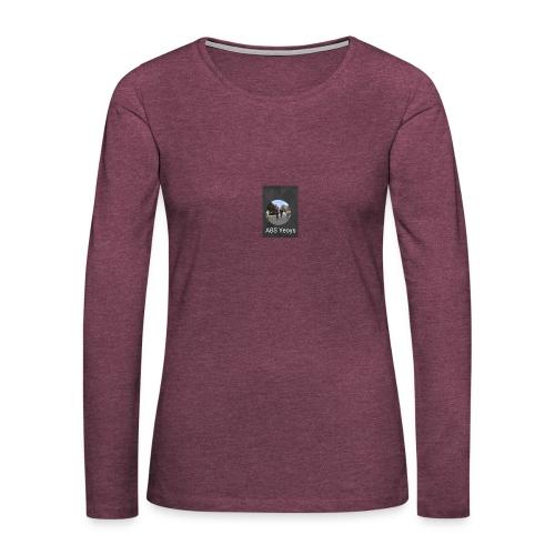 ABSYeoys merchandise - Women's Premium Slim Fit Long Sleeve T-Shirt