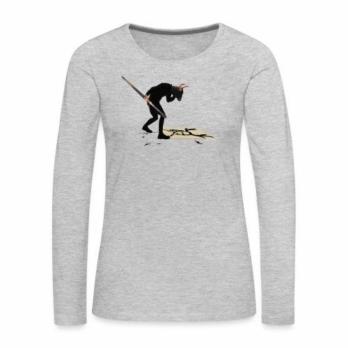 Anguish Artist and AntlerGirl - Women's Premium Long Sleeve T-Shirt