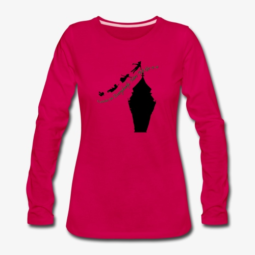 Come on Everybody, Here We Go-o-o - Women's Premium Long Sleeve T-Shirt