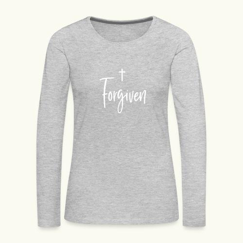 Forgiven - Women's Premium Long Sleeve T-Shirt