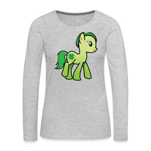 Irish Pony 2 - Women's Premium Long Sleeve T-Shirt