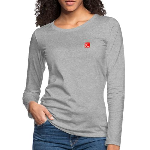 ChineseKuang Icon - Women's Premium Long Sleeve T-Shirt
