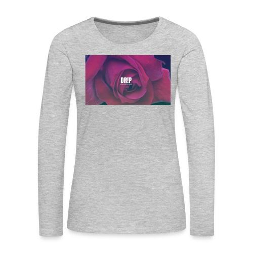 DR!P co. - Women's Premium Slim Fit Long Sleeve T-Shirt