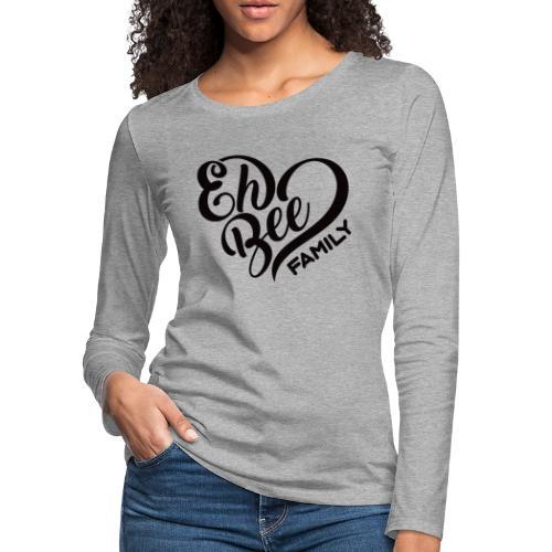 EhBeeBlackLRG - Women's Premium Slim Fit Long Sleeve T-Shirt