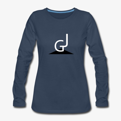 James Garlimah Logo - Women's Premium Long Sleeve T-Shirt