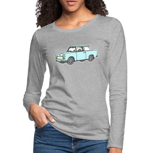 Trabant (lightblue) - Women's Premium Slim Fit Long Sleeve T-Shirt